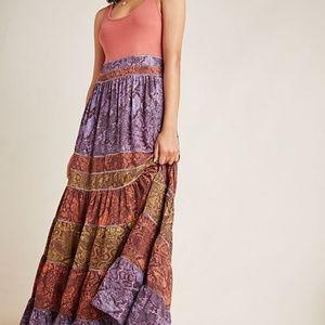 NEW! Anthropologie Colima Maxi Dress